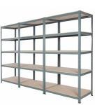 Buy cheap 5 Tiers Metal Long Span Bulk Storage Shelving For Pharmacy Industry from wholesalers