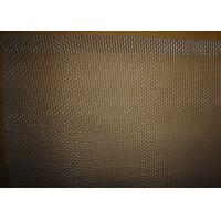 Buy cheap 21 BWG Aluminum Woven Square Wire Mesh , Plain Weave Woven Wire Netting from wholesalers