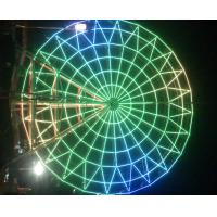 Buy cheap Super Color Amusement Park Led Rgb Pixel Ferris Wheel Decoration from wholesalers