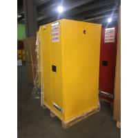Buy cheap Yellow Industrial Safety Cabinets , Flame Proof Storage Cabinets With Double Lock 60 galloncapacity from wholesalers