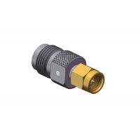 Buy cheap 50Ω RF Straight TNC Female To SMA Male Adapter from wholesalers