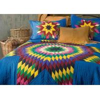 Buy cheap Geometric Design Handmade Bedding Sets , 100% Cotton Colorful Bedding Sets from wholesalers