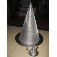 Buy cheap stainless steel sintered metal mesh cone filter from wholesalers