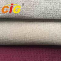 Buy cheap Professional Auto Upholstery Fabric With 4mm Foam Burn Out Auto Fabric product
