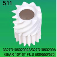 Buy cheap 3327D10602092A / 327D1060209A GEAR TEETH-10/16 FOR FUJI FRONTIER 500/550/570 minilab from wholesalers