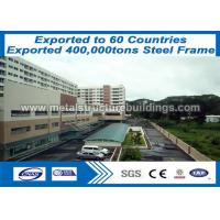 Buy cheap Fireproof Prefabricated Industrial Buildings High Steel Structures from wholesalers