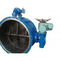 Buy cheap DN 0.25 - 2.5 Mpa Electric/Manual Flanged Butterfly Valve for Hydropower Station from wholesalers