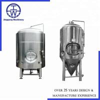 Buy cheap 200L / 2bbl Conical Beer Fermentation Tank Beer Wine Beverage Dairy Rockwool Insulation from wholesalers