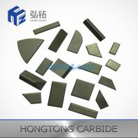 Buy cheap High quality Tungsten carbide welding inserts for agricultural machinery from wholesalers