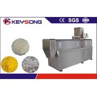 Buy cheap Industrial Artificial Rice Processing Line , Twin Screw Extruder Rice Powder Machine from wholesalers