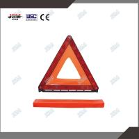 Buy cheap Reflective car safety roadway traffic warning triangle reflector from wholesalers
