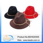 Buy cheap Wholesale austria wool felt alpine hat oktoberfest hat from wholesalers