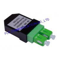 Buy cheap SC Singlemode Fiber Optic Patch Cord Loopback SC / APC Low Insertion Loss from wholesalers