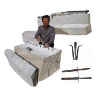 Buy cheap shims and wedges hand splitter for quarrying from wholesalers