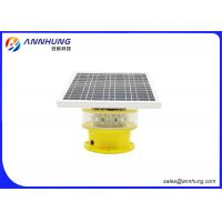 Buy cheap Flash Mode Solar Powered Aviation Lights / Aircraft Obstruction Lights from wholesalers