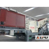 Buy cheap Professional Durable Mobile Crushing Plant With Self - Mounted Conveyor from wholesalers