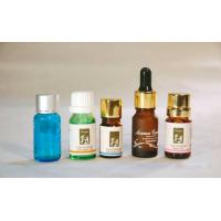 Buy cheap Miniature Blue Colored Essential Oil Glass Bottles 5ml-10ml with WT Orifice Reducer & Cap from wholesalers