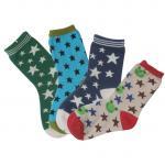 Buy cheap Custom design, color knitted star Patterned Children's Socks from wholesalers
