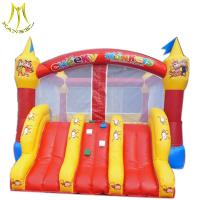 Buy cheap Hansel  bouncy inflatable castle bouncy castles with slides trampoline inflatables from wholesalers