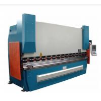 China Sheet Metal Press Brake Machine 2 Axes 100Ton X 2500 With Hydraulic Electric Control on sale