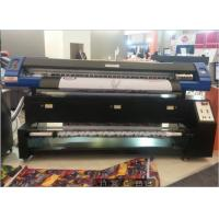 Buy cheap 2 Pcs Dx7 Printhead Fabric Sublimation Printer / Fabric Printing Machine High Efficiency from wholesalers