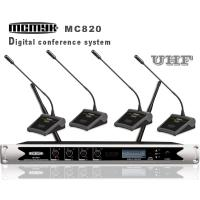 Buy cheap Infared frequency wireless conference microphone system from wholesalers
