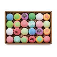 Buy cheap 30 - 160g Natural Face Cleanser , Colorant Press Bubble Fizz Balls Bath Bombs Set from wholesalers