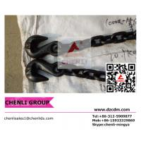 Buy cheap Grade 80 chain with eye garb hook w/wing from wholesalers