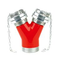 Buy cheap fire fighting water divider,2 ways divider for landing valve,breeching inlet from wholesalers