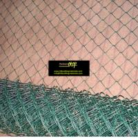 Buy cheap Green Vinyl coated Chain Link Fencing(chainlink fence), China Fencing supplier from wholesalers