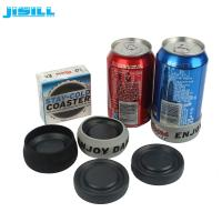Buy cheap HDPE Christmas Gift Ice Hockey Puck Round Shape For Holding Beer , Cans Cooling from wholesalers