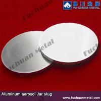 Buy cheap Aluminum slug for aerosol can,fire fighter housing,round flat,extrusion tube from wholesalers