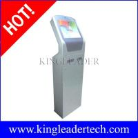 Buy cheap Custom design self-service ticketing kiosks with note acceptor,thermal printer and camera from wholesalers