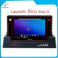 Buy cheap Launch X431 PAD II WiFi Auto Code Reader Update Free Online Launch X-431 Pad 2 Universal Diagnostic Scanner from wholesalers