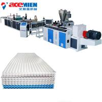 Buy cheap Pvc Extrusion Board Corrugated Sheet Making Machine , Tile Forming Machine product