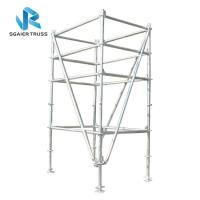 Buy cheap 2m - 20m Aluminium Scaffold Tower , Mobile Climbing Ladder Frame Scaffolding from wholesalers