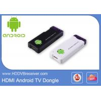 Buy cheap Android HDMI Smart TV Dongle Single Core Boxchip A10  up to 1.2GHz ARM Cortex A8+ 2160P from wholesalers