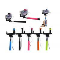 Buy cheap Colorful Cell Phone Selfie Stick Handheld Monopod for Camera product