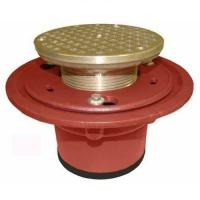 Buy cheap 1100-2NH Cast Iron Floor Drain Body with 2 No-Hub Outlet with Integral clamping Collar and 1/2 Trap Primer Tapping from wholesalers