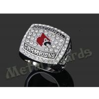 Buy cheap Durable Championship Baseball Rings , Unique Replica Super Bowl Rings from wholesalers