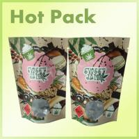 Buy cheap Kraft Paper Laminated Aluminum Foil Lined Packaging Bags , Valve Sealed Coffee Bags from wholesalers