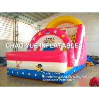 Buy cheap Advertising Toys Inflatable Backyard Water Slide Games For Events / Party from wholesalers