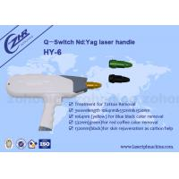 Buy cheap 1064nm & 532nm Q - Switch ND YAG  Laser  Tattoo Removal Machine Handle from wholesalers