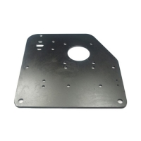 Buy cheap Black Side Front Back Base Plate Panel Cover Ra1.6 Custom Stainless Steel Parts from wholesalers