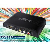 Buy cheap LKV363A Multi-system Pal to NTSC Analog New RCA Composite or S-Video To HDMI Converter from wholesalers