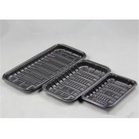 Buy cheap Biodegradable Packaging PP Food Tray Polypropylene Material For Supermarket Fish Meat product