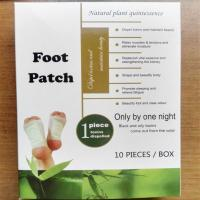 Buy cheap 100% new material bamboo Vinegar Detox foot patch from wholesalers