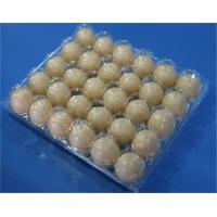 Buy cheap Disposable plastic egg tray 30 holes egg packaging box plastic egg tray 15 slots plastic clamshells egg tray 30 holes product