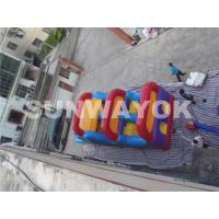 Buy cheap Wonderful Outside inflatable bounce house obstacle course for hire EN71 from wholesalers