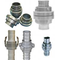 Buy cheap Fire Fighting Equipment Fire Hose Couplings Aluminum / Brass Storz Hose Fittings product